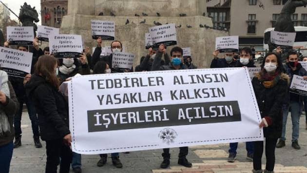 'Dükkan kapanmıyor' diyen Erdoğan'ı Kızılay'a davet ettiler