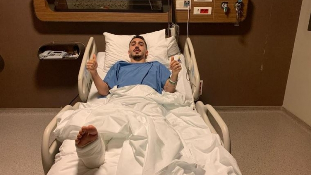 Trabzonsporlu oyuncu Abdülkadir Ömür ameliyat oldu
