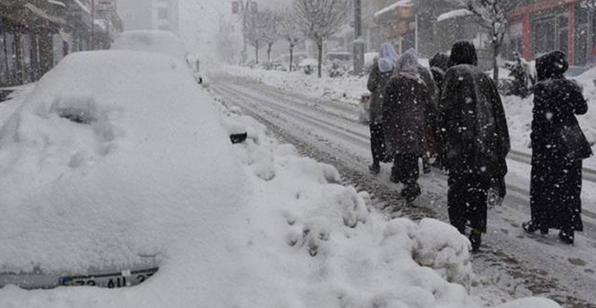 Meteoroloji Kar İçin Tarih Verdi