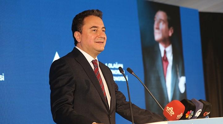 Babacan'dan AKP'ye: Aldığınız kararların faturasını başkasına kesemezsiniz