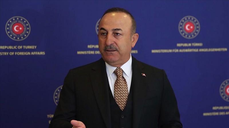 Çavuşoğlu'dan Batı'nın sessiz kalmasına tepki