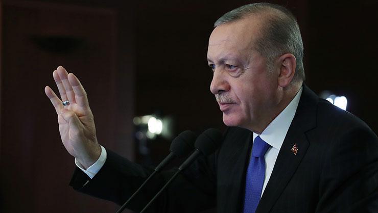 Cumhurbaşkanı Erdoğan: Müttefiklerimizden net bir tutum bekliyoruz