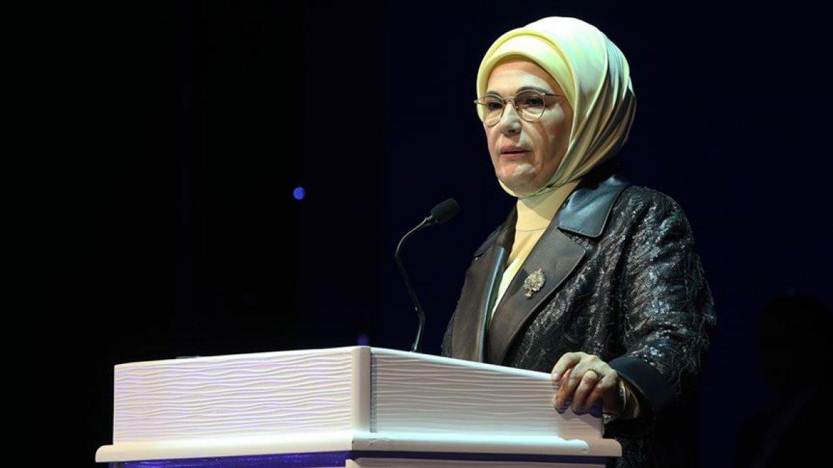 Emine Erdoğan dan taziye mesajı #2