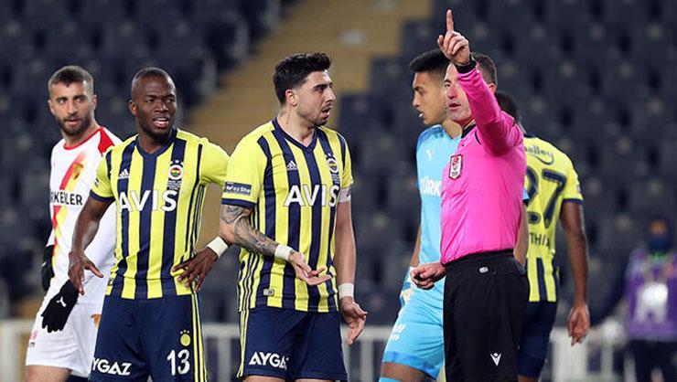 Fenerbahçeli futbolcu Ozan Tufandan Göztepe maçında Hüseyin