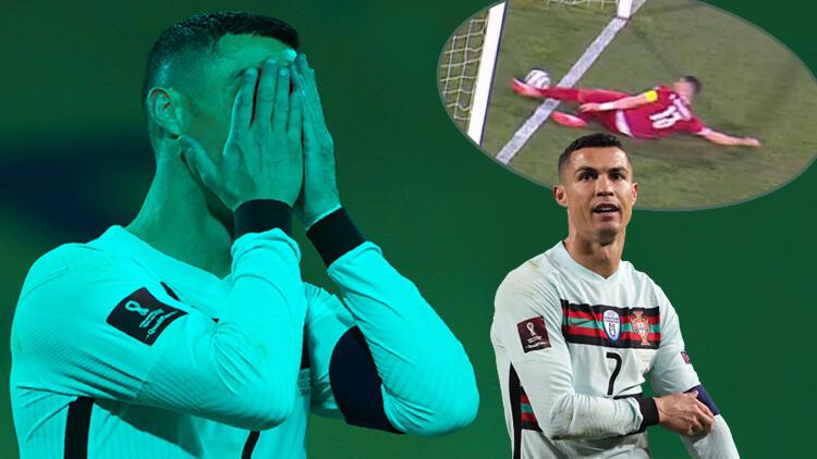 4 gollü maçta Cristiano Ronaldo'yu deliye döndüren karar!
