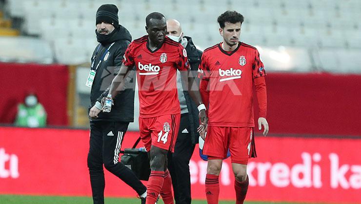 Beşiktaşta Vincent Aboubakarın sağlık durumu nasıl? Fenerbahçe