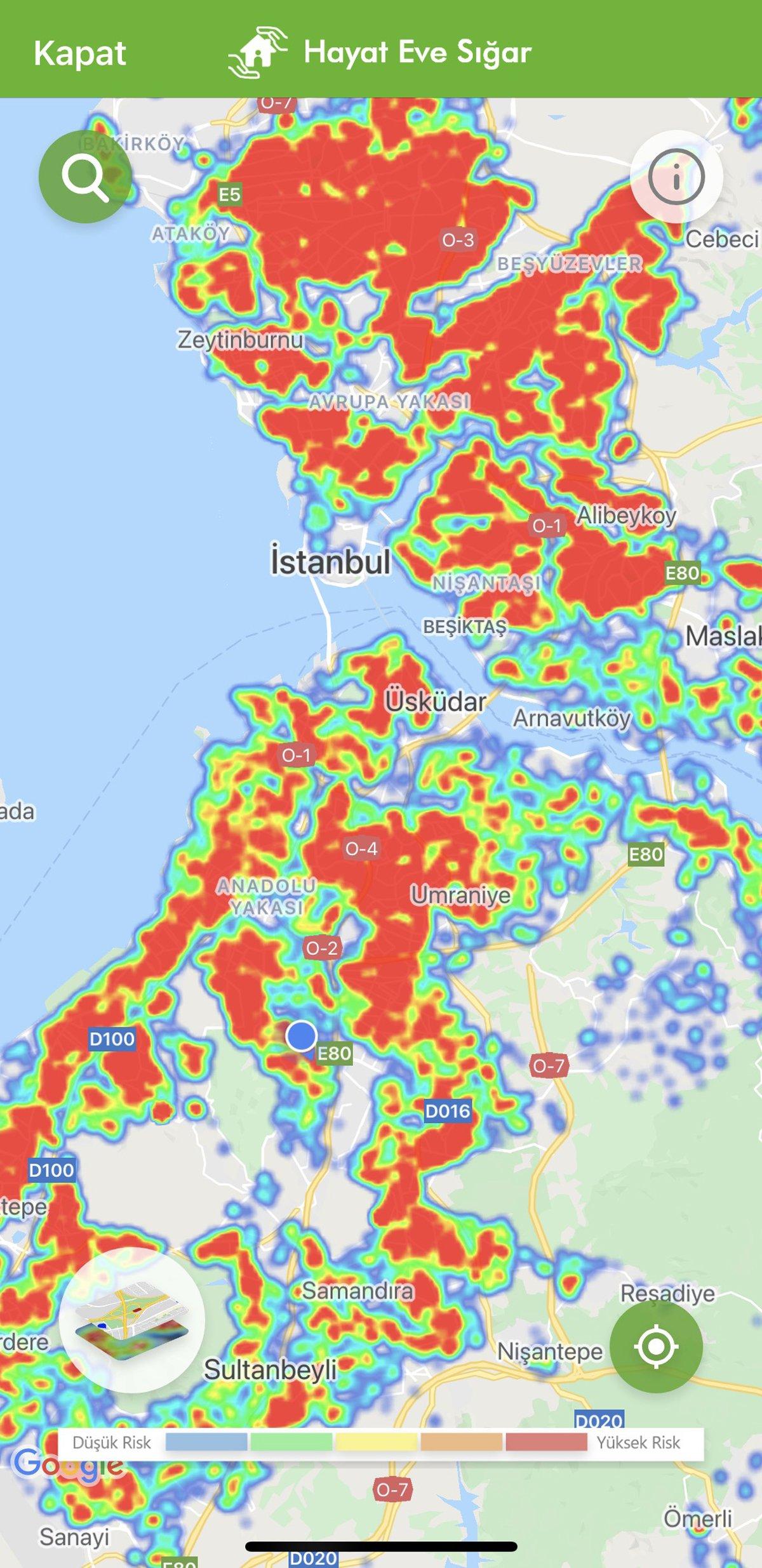 Corona virüsü vakaları artıyor! İstanbul kırmızıya büründü, İl Sağlık Müdürü'nden 'kapanma' uyarısı