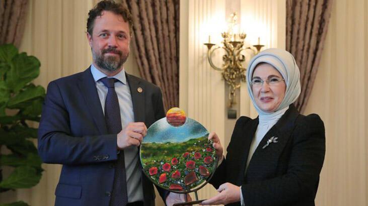 Emine Erdoğan, Sıfır Atık Projesine desteği için UNDP Türkiyeye...