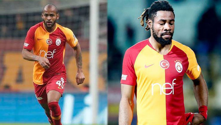 Galatasarayda sözleşme sırası Marcao ve Luyindamada