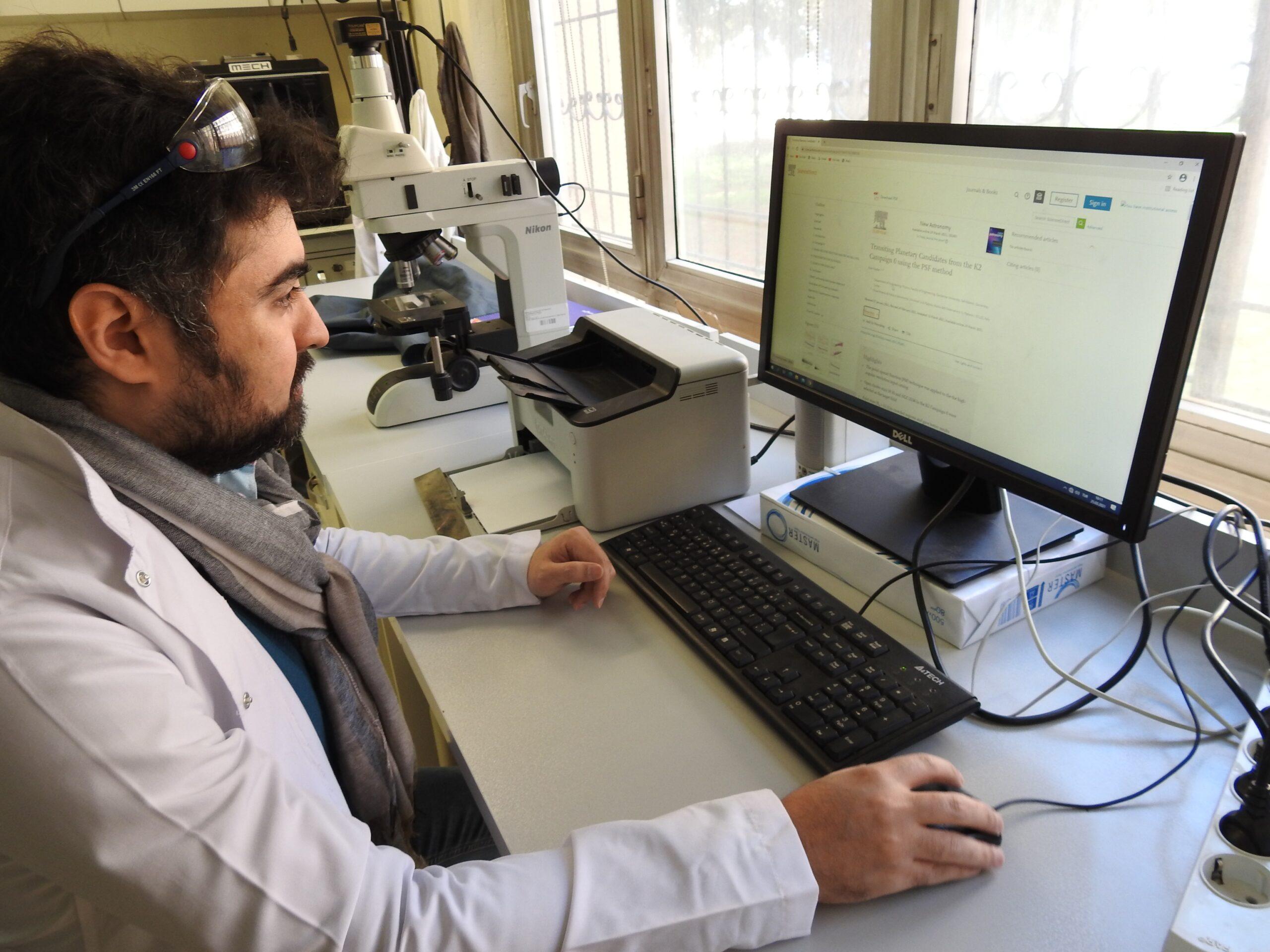İtalyanların peşinde olduğu Türk öğrenci yeni bir gezegenin izini sürüyor