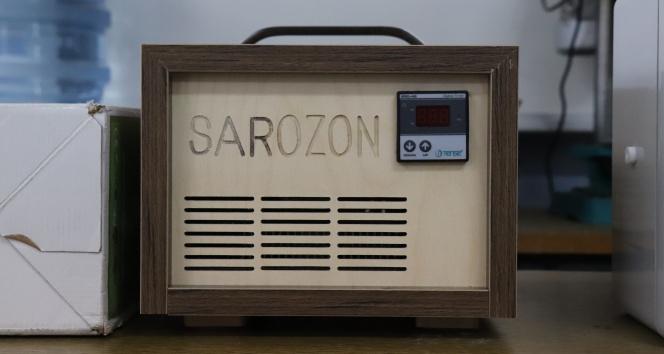 Korona virüsle mücadelede zararlı tüm mikroorganizmaları yok eden 'Sarozon' tescillendi