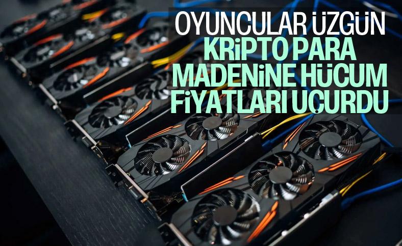 Kripto para madenciliği, bilgisayar parça fiyatlarını artırdı
