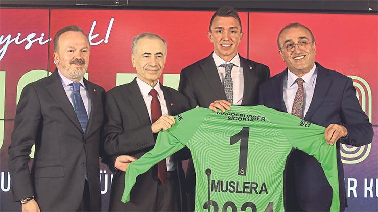 Mustafa Cengiz: Muslera inşallah başkan da olur