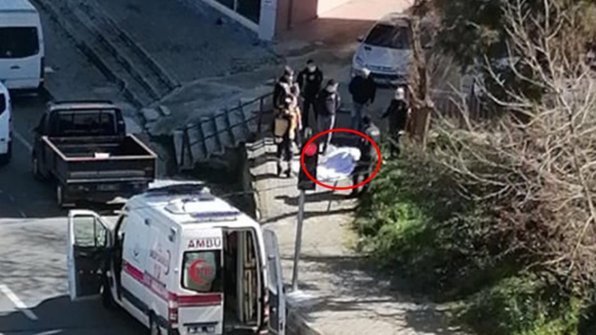 Ölüm, çöp dökmeye çıkan yaşlı kadını kaldırımda yakaladı