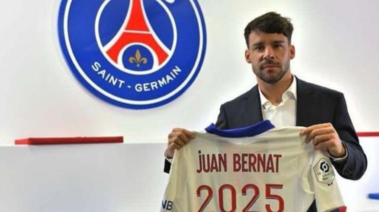 PSG, Bernat'ın sözleşmesini uzattı