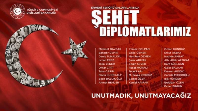 Dışişleri'nden Ermenistan açıklaması: Unutmayacağız