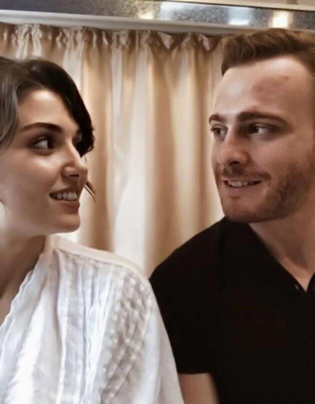 Hande Erçel'den Kerem Bürsin açıklaması: Birbirimize şanslı geldik